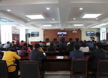 我县组织收听收看全省环境保护电视电话会议