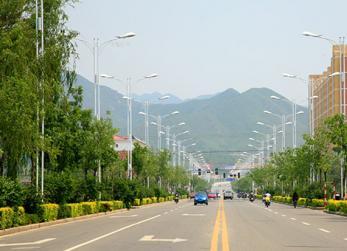 丰宁增绿填景建设森林城市
